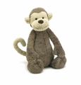 Jellycat Bashful Monkey - Large Stuffed Animal