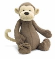 Jellycat Bashful Monkey - Small Stuffed Animal