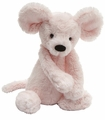 Jellycat Bashful Pink Mouse Medium Stuffed Animal