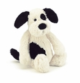 Jellycat Bashful Puppy Black & Cream  Large