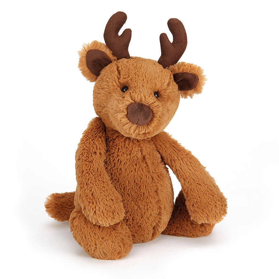 Jellycat Bashful Reindeer Small Plush Toy