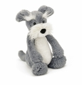 Jellycat Bashful Schnauzer - Medium Stuffed Animal