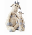 Jellycat Beginnings Blue Giraffe - Medium Stuffed Animal