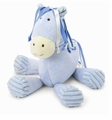 Jellycat Beginnings Blue Pony with Chime