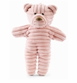 Jellycat Beginnings Pink Cordy Bear Stuffed Animal