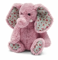 Jellycat Blossom Elephant Daisy Stuffed Animal