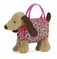 Jellycat Dainty Dog Beige Bag