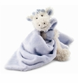 Jellycat Giraffe Soother Blue