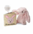 Jellycat If I Were a Bunny Book Pink