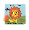 Jellycat Lonely Lion Book