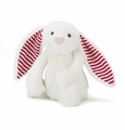 Jellycat Medium Bashful Bunny Candy Stripe