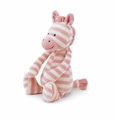 Jellycat Twibble Zebra Pink Stuffed Animal
