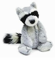 Jellycat Woodland Raccoon Stuffed Animal