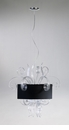 Jellyfish Clear Glass Medium Pendant Light by Cyan Design