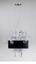 Jellyfish Clear Glass Small Pendant Light by Cyan Design
