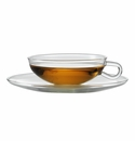 Jenaer Glass Wagenfeld Teacup with Saucer