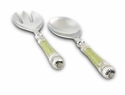 Julia Knight Classic Salad Serving Set - Kiwi