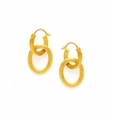 Julie Vos Byzantine 2 in 1 Earring Gold