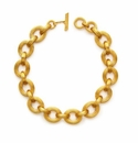 Julie Vos Byzantine Link Necklace Gold