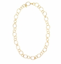 Julie Vos Colette Gold Link Necklace