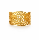Julie Vos Fern Cuff Gold