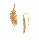Julie Vos Fern Earring Gold