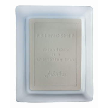 Juliska Cornerstones Friendship Large Tray - Whitewash