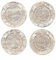 Juliska Firenze Medici Cocktail Plates Gold/Platinum (4)