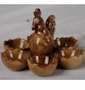 Kaldun & Bogle Farm Country Crafts Chicken Egg Holder