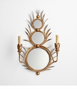 Kingston Mirror Wall Mount Sconce by Cyan Design