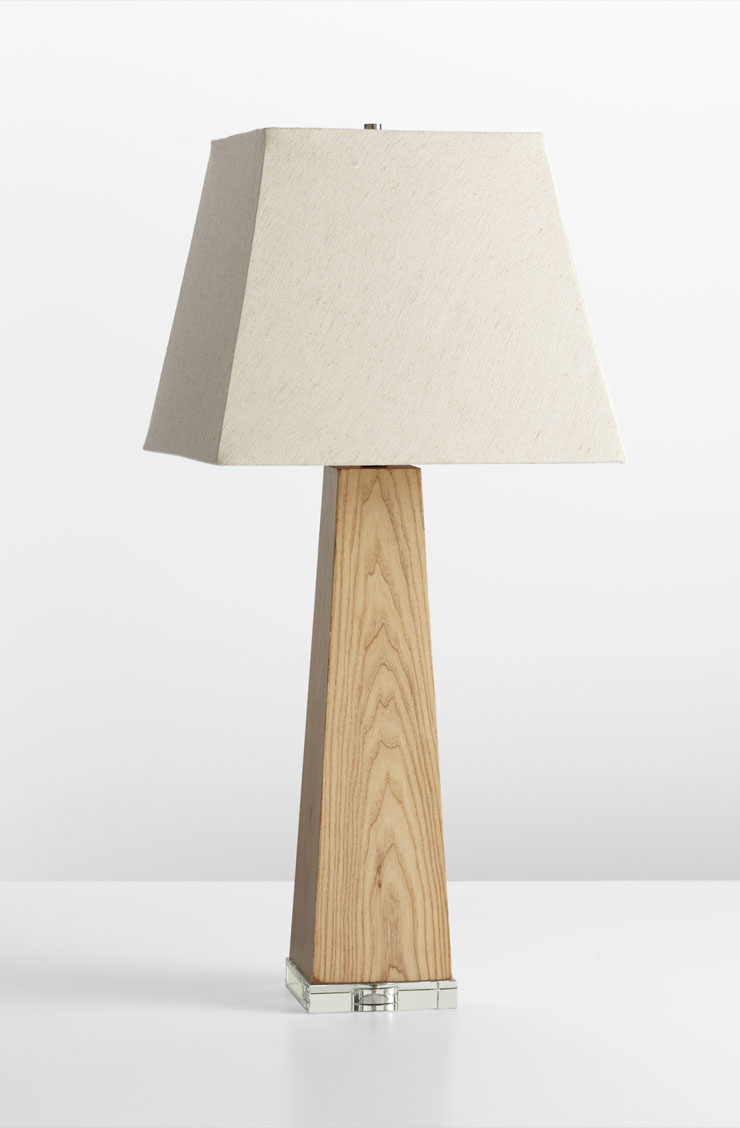 Kirkwood Maple Wood Table Lamp By Cyan Design