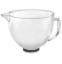 KitchenAid 5qt Hammered Glass Mixing Bowl for Tilt Head Mixers