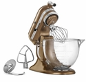 KitchenAid Artisan Stand Mixer 5qt. Glass - Antique Copper