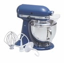 KitchenAid Artisan Stand Mixer 5qt. Tilt - Blue Willow