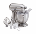 KitchenAid Artisan Stand Mixer 5qt. Tilt - Brushed Nickel