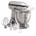 KitchenAid Artisan Stand Mixer 5qt. Tilt - Chrome