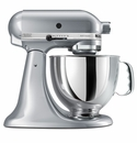 KitchenAid Artisan Stand Mixer 5qt Tilt Head- Metallic Chrome