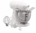 KitchenAid Artisan Stand Mixer 5qt. Tilt - White On White