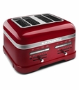 KitchenAid Pro Line� 4-Slice Toaster - Candy Apple Red