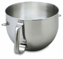 KitchenAid Stainless Steel 6 Qt. Mixing Bowl for Bowl-Lift Mixers