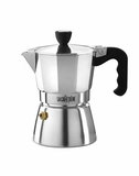 La Cafetiere 3 Cup Stove Top Espresso Maker Polished