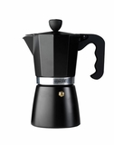 La Cafetiere 9 Cup Stove Top Espresso Maker Black