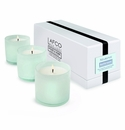 LAFCO House & Home Bathroom Three Mini Candles (Marine)