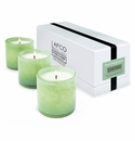 LAFCO House & Home Living Room Three Mini Candles (Fresh Cut Gardenia)