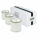 LAFCO House & Home Ski House Three Mini Candles (Feu De Bois)