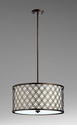 Large Byzantine Bronzed Pendant Light by Cyan Design
