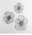 Large Iron Flower Wall Decor by Cyan Design