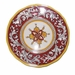 Le Cadeaux Malaga Red Dinner Plate
