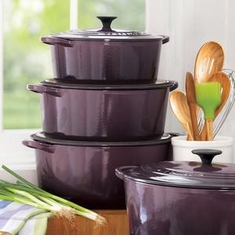 Le Creuset Cast Iron & Enamel on Steel Cookware