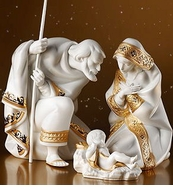 Lladro Nativity, Christmas, Christianity & Hanakkuh Figurines